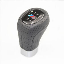 Gear Shift Knob M SPORT PU Leather 6 Speed For BMW 1' 3'  E81 E82 E90 E91 E92