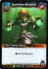 WOW Soul-Eater Morgania TWLIGHT 7/220 FOIL - WORLD OF WARCRAFT ENG MINT