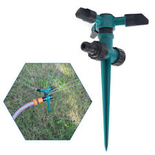 New listing 2pcs Garden Sprinkler Automatic 360 Rotating Lawn Sprinkler Watering Irrigation