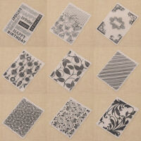 Flower Plastic Embossing Folder Template DIY Scrapbook Paper Decor Handcraft