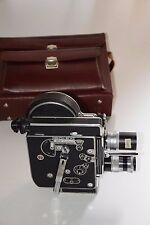 Bolex H16 Reflex Filmkamera + 2x Schneider Objektive