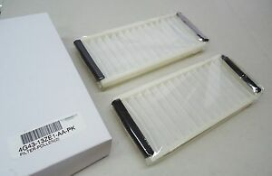 Aston Martin Cabin Air Filter Pack (Pack of 2 Filters) OEM # 4G43-13ZE1-AA-PK