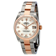 Rolex Lady Datejust Mother of Pearl Diamond Stainless Steel and 18K Everose