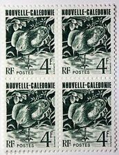 Bloc de 4 Timbres Nouvelle Calédonie  Le Cagou OISEAU  NEUF ** MNH ACA