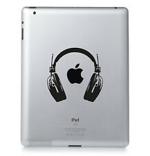 Casque Apple Ipad Mac MacBook PC PORTABLE autocollant vinyle décalcomanie.