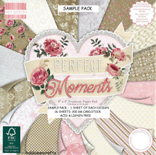 DOVECRAFT FIRST EDITION PERFECT MOMENTS PAPERS 6 X 6 SAMPLE PACK - 16 SHEETS