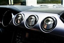 2015-2019 Mustang Dash Board Air Vent Trim A/C Vent Trim Satin Pony 9pc