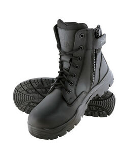 STEEL BLUE - 320250 - BOOT ENFORCER 150mm LACE & ZIP NON SAFETY