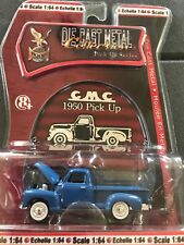 Road Signature Yat Ming 1950 GMC Pick Up Truck Series Die Cast Blue 1/64 Scale
