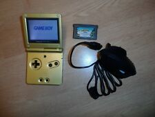 Gold Zelda Nintendo Gameboy Advance Sp - Console - Tested