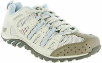 LADIES MERRELL MYKOS JET SILVER BIRCH LACE-UP CASUAL WALKING TRAIL TRAINERS 3-6