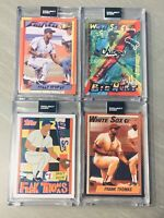 Topps PROJECT 2020 Frank Thomas 83, 96,115, 174 Fucci Taylor Siff 4 Card Lot