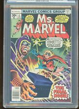 MS. MARVEL #4 CGC GRADED 9.4 WHITE PAGES 1977 DESTRUCTOR / DOOMSDAY MAN