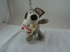"""Boofle Pup plush 5"""" Key Chain Zipper pull MEGAN  Butterfly Expressions 2010 NWT"""