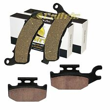 FRONT REAR BRAKE PADS FIT SUZUKI UH200 UH200A BURGMAN 200 2007-2014