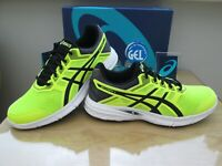 ASICS GEL-EXCITE 5 MENS  NEON BLACK COURSE RUNNING TRAINERS SIZE UK 9.5 EUR 44.5