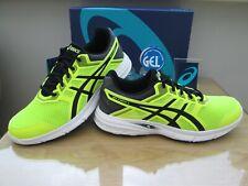 Asics Gel-Excite 5 Hombre Neón Negro curso Correr Zapatillas Size UK 9.5 EU 44.5