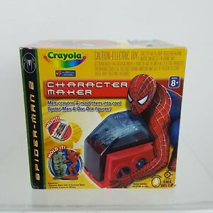 Crayola Spider- Man 2 Character Maker 2004 New in Box
