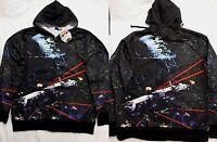 Star Wars Space Battles Millennium Falcon Costume Zip up Hoodie Jacket Shirt