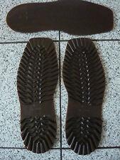 Schuhsohle Flachsohle Gr. 38 - 39  (Bw 245-250) braun Schuhreparatur Sohlen  NEU