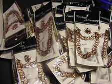 WHOLESALE LOT OF 12 SETS TATTOO JEWELRY JEWLRY RINGS tatoo Necklace Bracelet