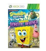 Spongebob Squarepants Planktons Robotic Revenges Xbox 360 new sealed