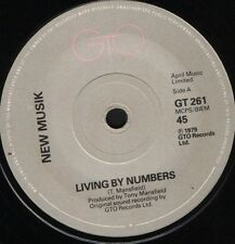 "NEW MUSIK living by numbers 7"" WS EX/ uk gto GT 261"