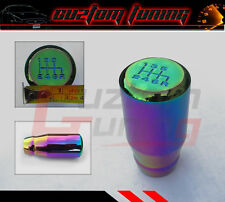 SUBARU IMPREZA WRX STI JDM LONG DRIFT FULL GRIP 6 SPEED NEO CHROME SHIFT KNOB