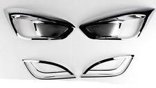 Chrome Fog Lamp Cover Garnish For 2010 2011 Hyundai Tucson