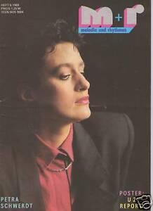 MELODIE UND RHYTHMUS 6 - 1989 5* Petra Schwerdt U2 Metallica REPORT DeJohnette