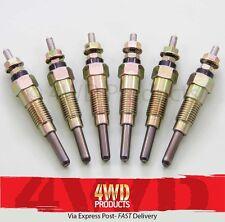 Glow Plug SET - Patrol MQ SD33 3.2D (8/83-84) MK SD33 3.2D/TD (84-6/85)