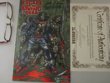 Living Dead comic book Limited Edition Signed John Russo Zombie Walking