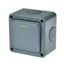 Weatherproof Outdoor 10A 1 gang 2 way Switched IP66 Outside Waterproof Switch