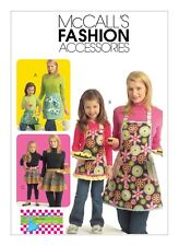 McCall's SEWING PATTERN M5720 Misses/Childrens/Girls Aprons