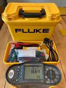 Fluke 1664FC Multifunction Installation Tester 8 Months Calibration