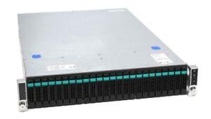 "Intel R2000 19"" Server Chassis inkl. 24-fach SFF Backplane & 2x 750W PSU"