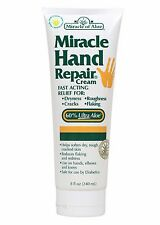 Miracle of Aloe Miracle Hand Repair Cream 8 Oz Lotion