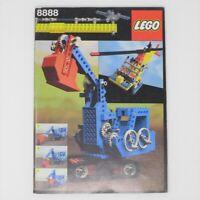 Libro Lego 8888 technic vintage anni 80 book lego technic mattoncini buildings