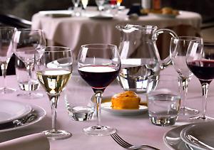 Luigi Bormioli Set of 4 Michelangelo Mastrepiece Wine Glasses, 8-Oz.(Gift Box 4)