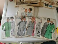 Lot 5 Anciens Patrons Marque BRU Taille 48