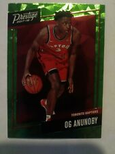 2017-18  Og Anunoby Rookie Prestige Bright Green Parallel MICRO ETCH Variant #23
