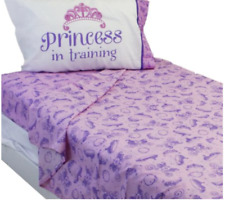 Disney Sofia The First Twin Sheets Set Princess in Training Pink and Purple 3 PC