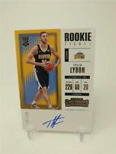 2017-18 PANINI CONTENDERS TYLER LYDON ROOKIE TICKET AUTO 106/125 DENVER NUGGETS