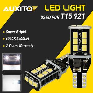 2x CANBUS T15 921 LED Backup Reverse Light Bulb White For Kia Optima 2004-18 HCN