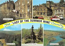 BT17784 Holmfirth the last of the summer wine country uk
