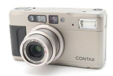 [Excellent] Contax TVS II 35mm Point & Shoot Film Camera w/Case & Data Back #289