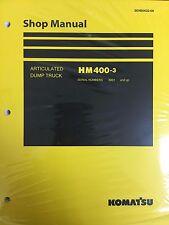 Komatsu HM400-3 Shop Service Manual Articulated Dump Truck