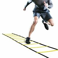 NEW GHB Pro Agility Ladder Training Speed Flat Rung with Carrying Bag 12 Rungs
