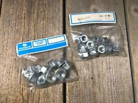 Vintage bike bicycle Shimano Hub Axle Nuts  3/8 x 24  x20 nuts 2 bags Japan NOS