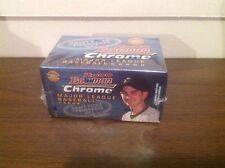 2000 Bowman Chrome Baseball Draft Picks & Prospects Set. Factory Sealed